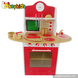 Multi-function children wooden funny kitchen set W10C130