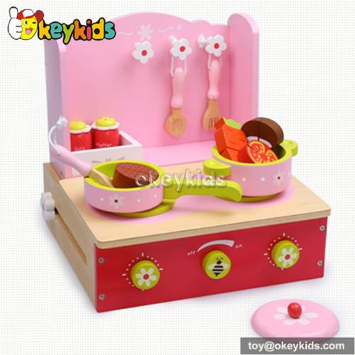 Tabletop wooden children kitchen toy W10C155