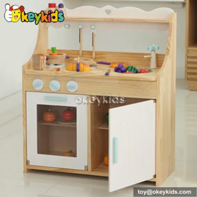 Pretend & Play toy wooden kitchen set for children W10C160