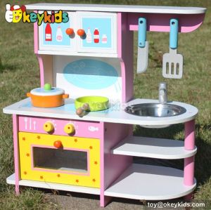 Educational children wooden kitchen set toy W10C167