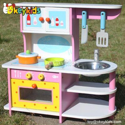 Educational children wooden kitchen set toy W10C167