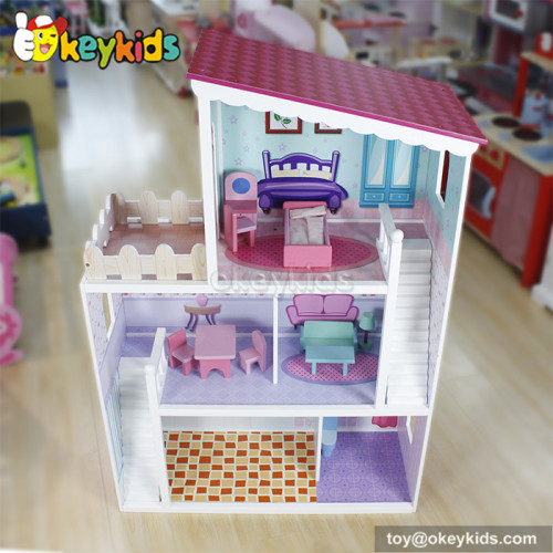 Lovely wooden fairy dollhouse for sale W06A137