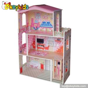 Pretty toy children wooden dreamhouse W06A016