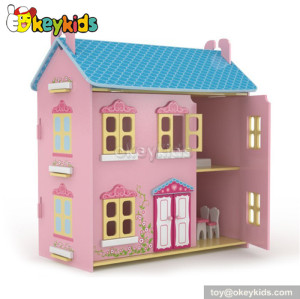 Christmas gift children wooden house playset W06A029