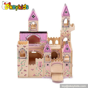 Medieval wooden castle toy W06A034