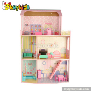 Dreamlike Diy Wooden Miniature Doll House Furniture Toy W06A042