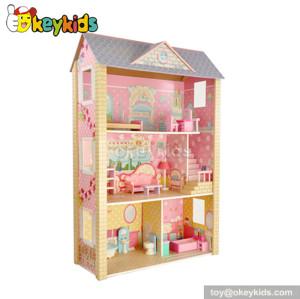 Dreamlike Diy Wooden Miniature Doll House W06A043