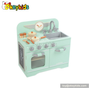 Role play toy wooden kitchen set for children W10C183