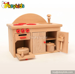 Natural Woodeen children toy kitchen sets W10C199