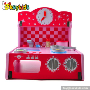 Tabletop kids mini wooden kitchen toy W10C207