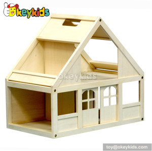Fashionable kids wooden cottage toy W06A070A