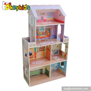 Luxury wooden creative playthings dollhouse W06A080