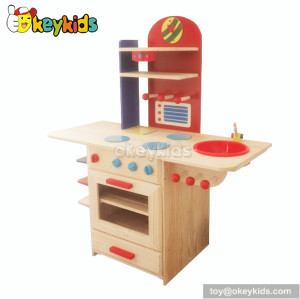 Preschool game wooden play wonder kitchen play set toys W10C081B
