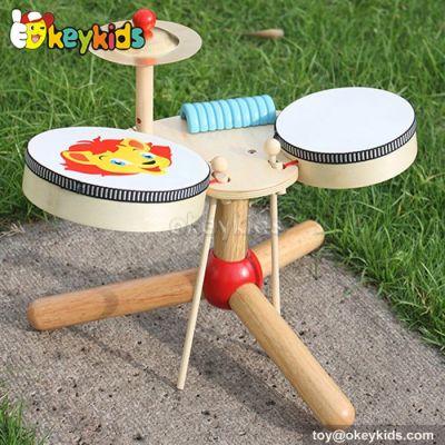 2016 Wholesale Baby Wooden Drum Toy New Fashion Children