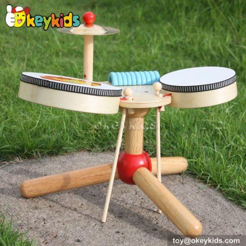 Okeykids new fashion children wooden drum toy W07A040