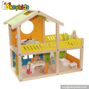 Classic kids wooden miniature dollhouse furniture W06A053