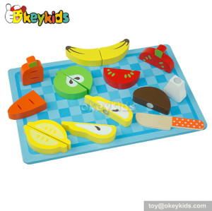 Emulation kids wooden play food for sale W10B059