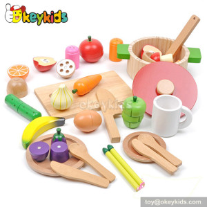 Emulation kids wooden kitchen accessories toys W10B098