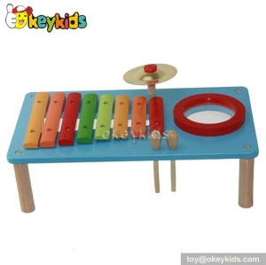 Wooden Instrument toy set,xylophone kid toy,drum for children,gong musical toy W07A071