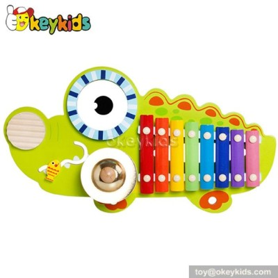 Wooden Musical Instrument Toy Set ,kid xylophone,gong for children W07A093