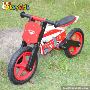 High quality children toy wooden self balance bike W16C013