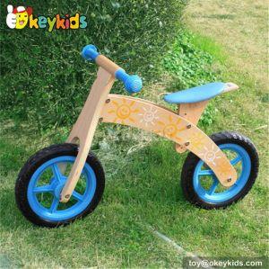 Manufacturer of wooden baby balance bike W16C031