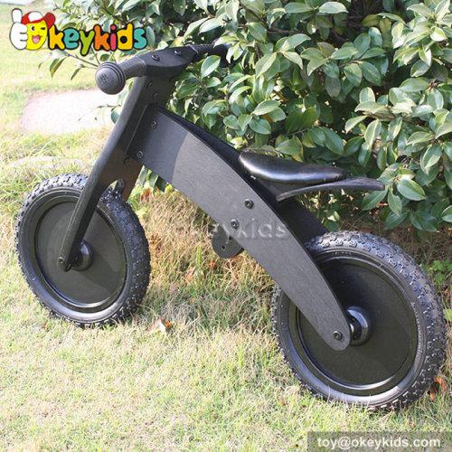 Okeykids New design black children wooden balance bike plans W16C051