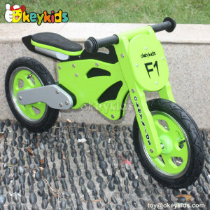 New design cute children wooden balance motorcycle W16C069