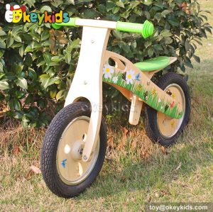 Wholesale high quality wooden balance bike for children W16C114