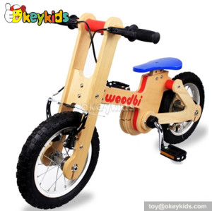 Wholesale high quality wooden balance bike for kids W16C115