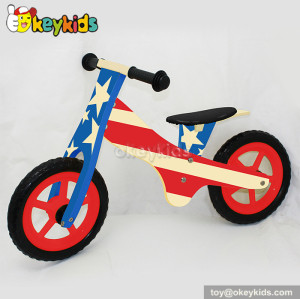 Newest kids wooden balance bike for 2 year old W16C116