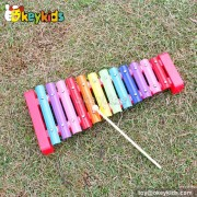 Wooden Musical Instrument Toy Set ,kid Wooden xylophone for children W07A099