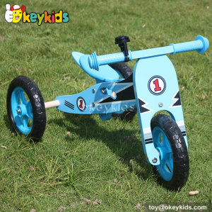 Newest kids 3 in 1 wooden balance bike W16A022