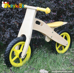 Most popular balance wooden bike for children W16C134