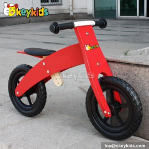Lovely red balance wooden kids bike W16C143
