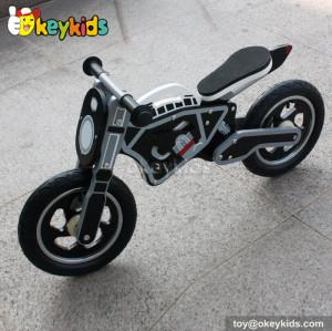 Cool black balance wooden mini motorcycle toy W16C144