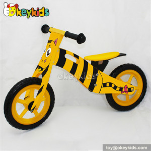 Best design kids balance wooden toy bike W16C075