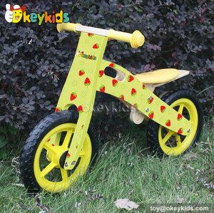 Best design wooden bike toy for kids W16C145