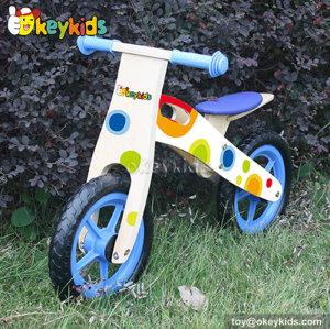 Low price balance wooden kids bicycle W16C148