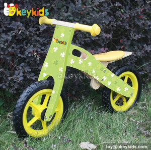 Low price children wooden balance bicycle W16C149