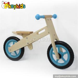 Wholesale cheap wooden kids balance bicycle W16C049