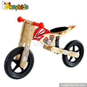 Wholesale cheap wooden balance kids bike/children bicycle W16C020