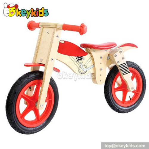 Most popular kids miniature wooden bicycle toy W16C024