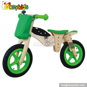 Manufacturer of wooden children balance bicycle W16C026