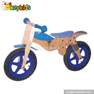 Manufacturer of children wooden mini bicycle toy W16C027