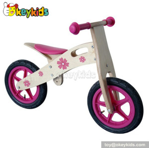 Manufacturer of children wooden miniature toy bike W16C028