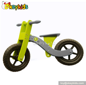 American children wooden miniature toy bicycle W16C029