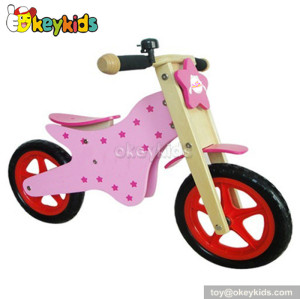 Bset sale kids wooden balance bike for 2 year old W16C035