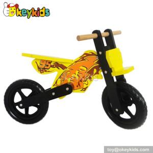 American kids wooden balance bike toddler W16C042
