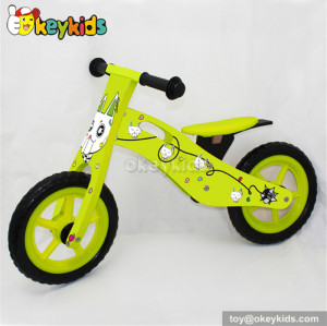 American wooden balance bikes for toddlers W16C078